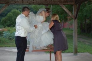 Working a wedding